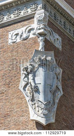Emblem Of The Ancient Building