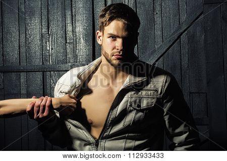 Stylish Handsome Man