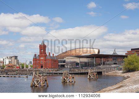 Cardiff Bay Wales