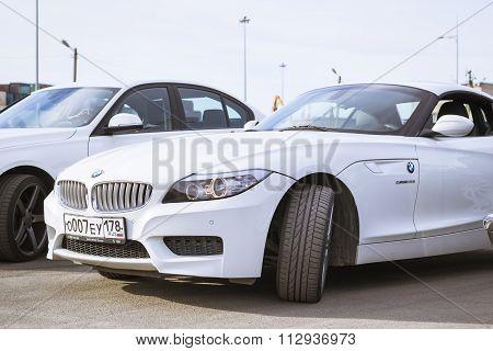 White Coupe Bmw-car Z4