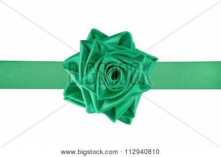 Ribbon Tied As A Rose