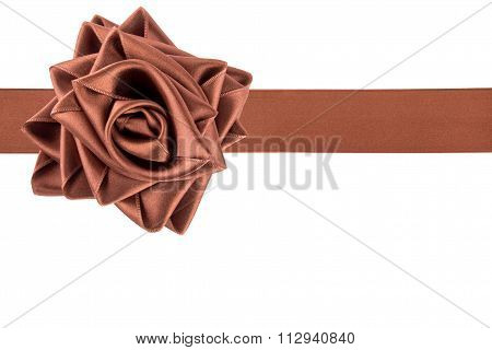 Ribbon Tied As A Rose