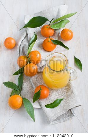 Mandarin And Juice