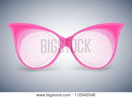 facet sunglasses pink