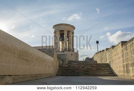 Siege Bell War Memorial, Valletta, Malta