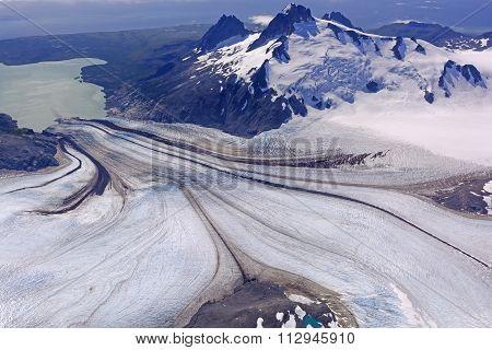 Glacier Heading Downhill