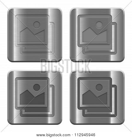 Metal Images Buttons