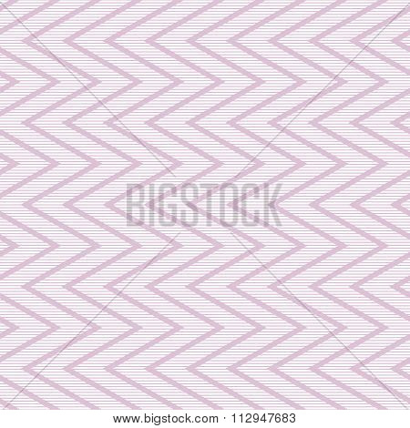 Seamless Striped Pattern With Vertical Zigzag