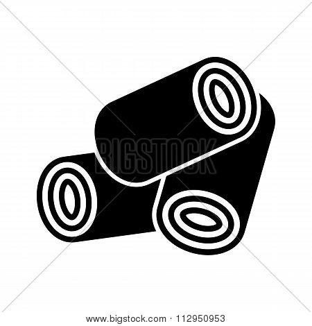 Wood Pellets Icon.