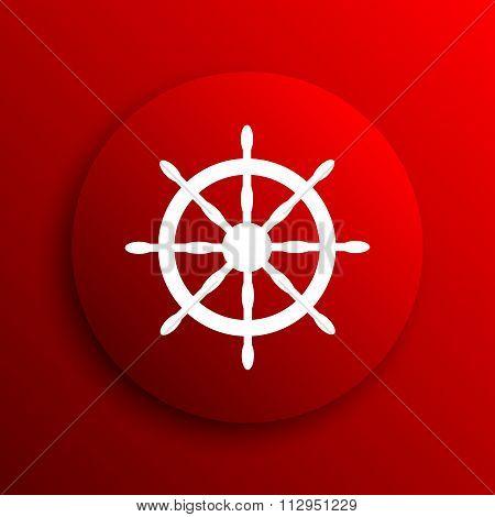 Nautical Wheel Icon