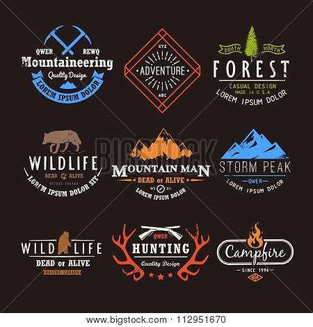 Set of premium vector labels part 4