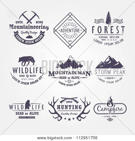 Set of premium vector labels part 2