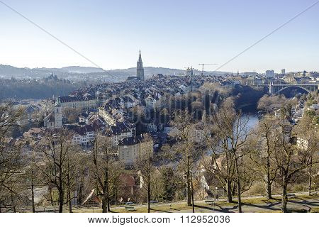 The Medieval City Center Of Bern