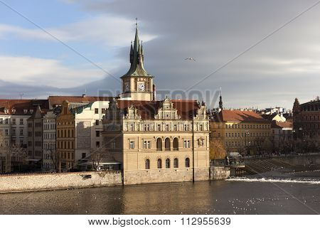 Staromestske Water Tower. Prague. Czech Republic