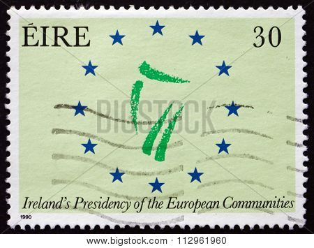 Postage Stamp Ireland 1990 Ireland's Presidency Of The European