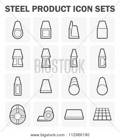 Steel Product Icon