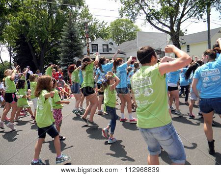 Young Americans in the 4th of July Parade