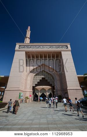 Gate Of Putra Mosque, Putrajaya, Malaysia
