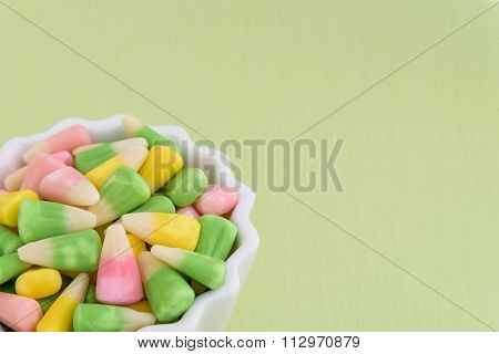 Festive Easter candy corn