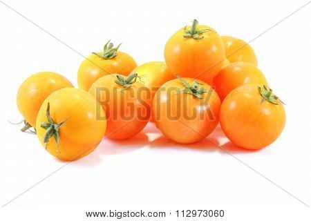 Bright Orange Red Tomato