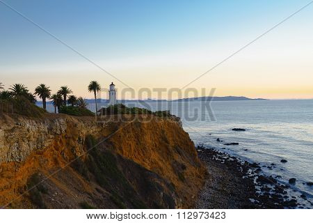 Point Vicente Lighthouse At Palos Verdes