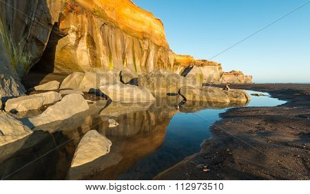 Beach Cliffs Erosion