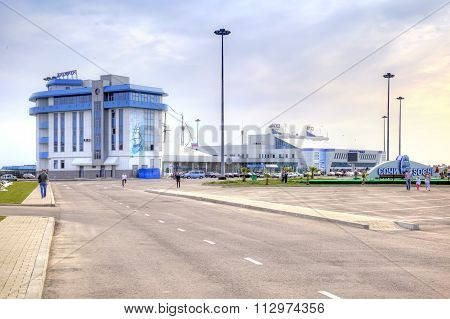 City Sochi. Marine Port