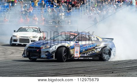 car battles in Asia Pacific D1  Primring Grand Prix 2015