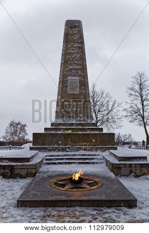 Eternal Flame And Obelisk