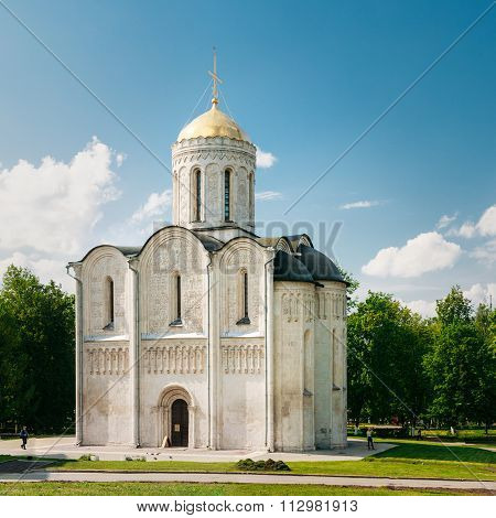 The Dormition Cathedral in Vladimir, Russia.