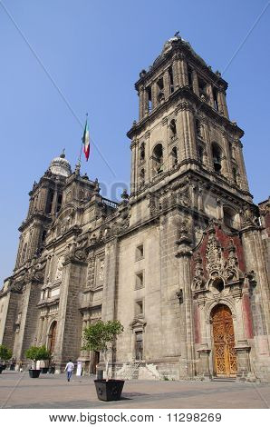Cathedral Of The Assumption Of Mary Of Mexico City