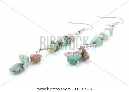 stylish gem earrings