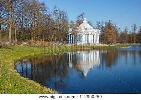 Catherine Park,  Pavilion Grotto, St. Petersburg.