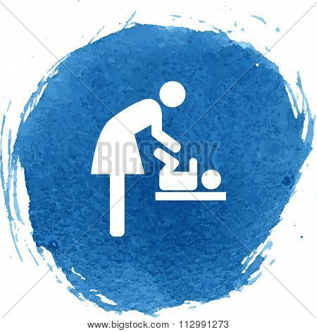 Symbol for women and baby