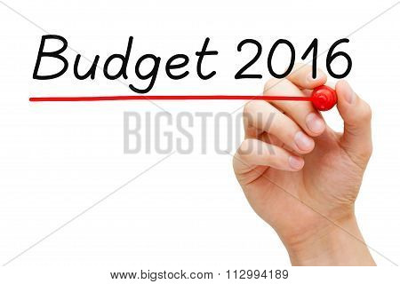 Budget Year 2016