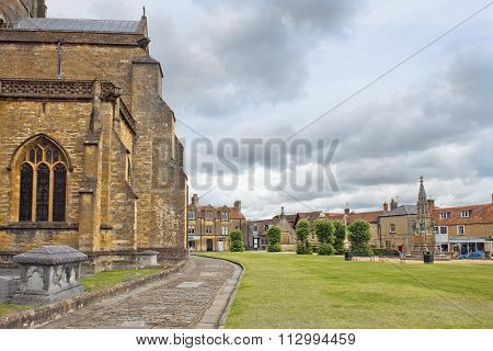 Sherborne Abbey, Dorset, England, Uk