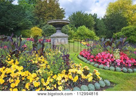 Parade Gardens In Bath, Somerset, England