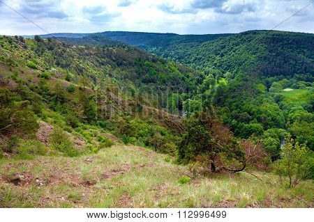 View of steppe in Czech Republic