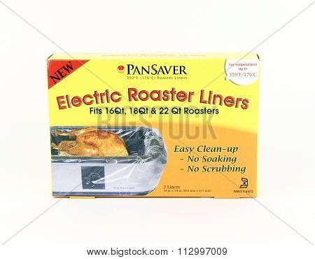 Box Of Pan Saver Electric Roaster Liners
