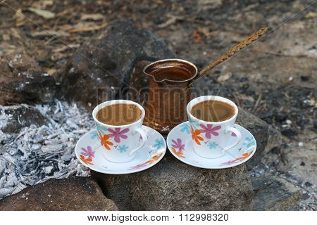 Ember Turkish coffee.