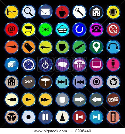 Web Icon Buttons