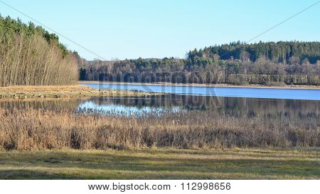 Ponds In The Countryside Of South Bohemia