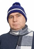 Adult Male In Winter Sports Cap