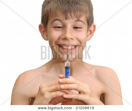 The Boy And The Syringe
