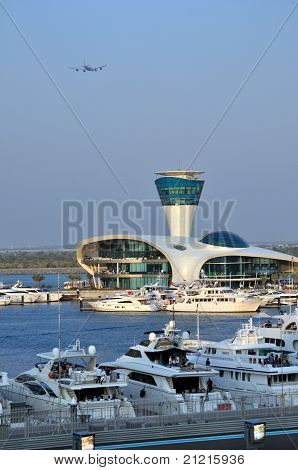 Yas Marina in Abu Dhabi, UAE