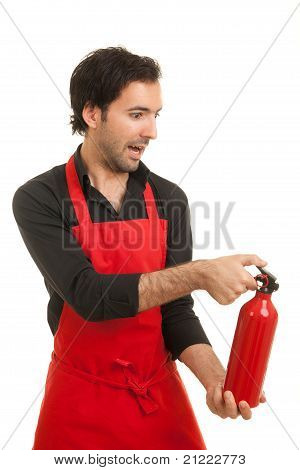Chef Fire Extinguisher