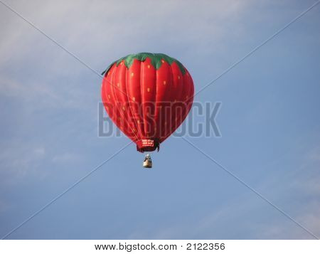 Strawberry Hot Air Balloon
