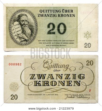 Terezin Ghetto Money