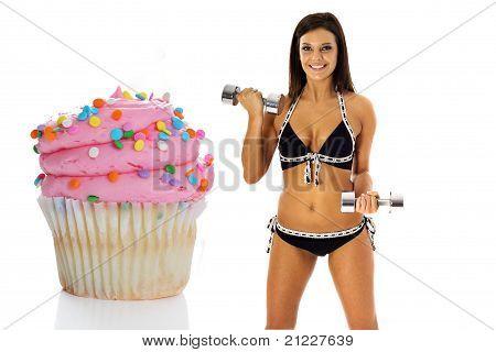 cupcake de perda de peso