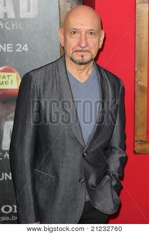 NEW YORK - JUNE 20: Sir Ben Kingsley attends the premiere of